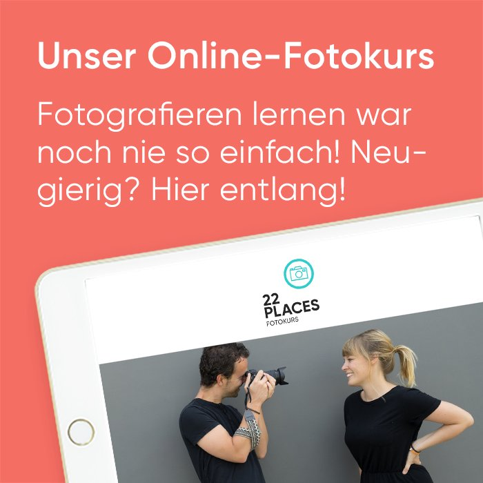 Online Fotokurs 22places