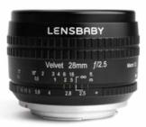 Lensbaby Velvet 28 MFT Objektiv