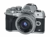 Olympus OM-D E-M10 Mark IV Micro-Four-Thirds-Systemkamera + M.Zuiko Digital ED 14-42mm Objektiv