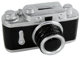 Spardose Kamera als Geschenk